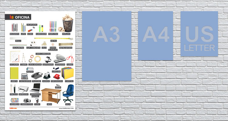 a2 poster office equipment