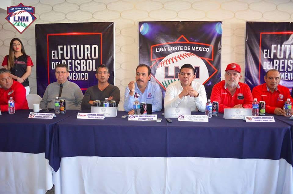 Rojos de Caborca dentro de la temporada 2018 de la Liga Norte de México