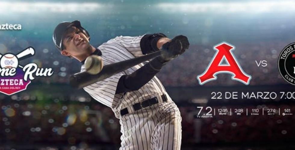 Regresa el béisbol de LMB a TV Azteca