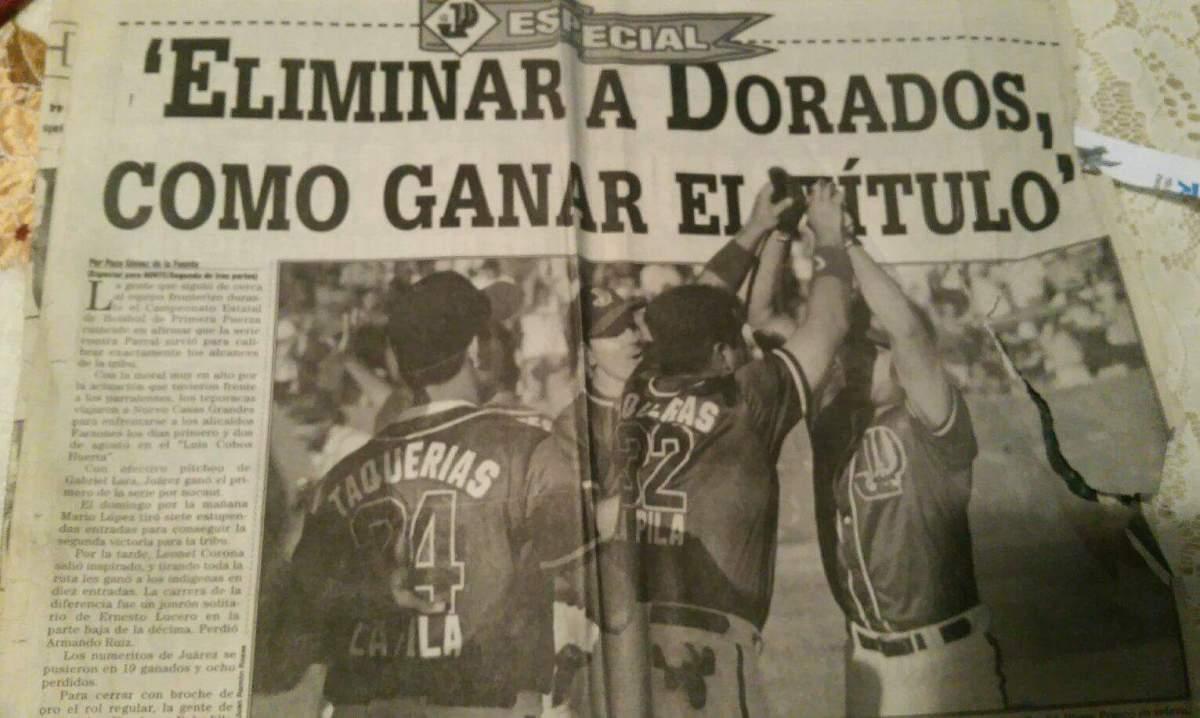 Aquella semifinal de 1998 entre Indios y Dorindios