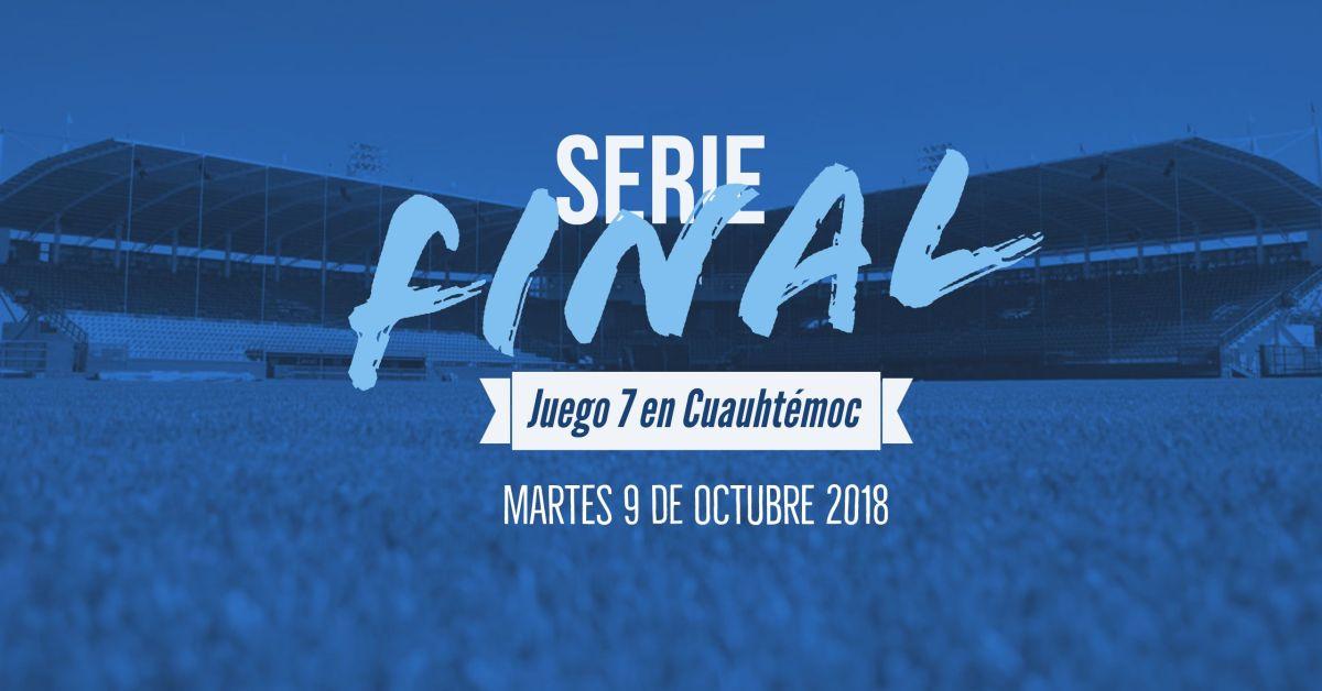 Será el martes en Cuauhtémoc el séptimo juego de la final de Liga Estatal Chihuahua