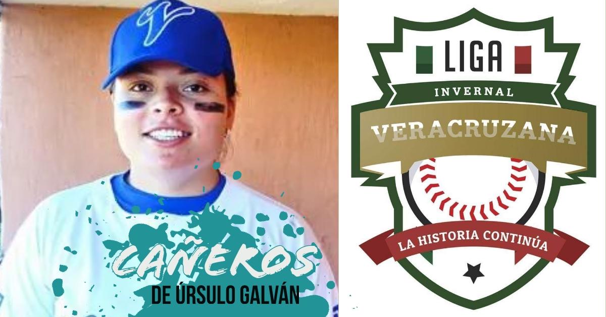 Cañeros se presenta en Córdoba y Marlen Lagunes, primera mujer beisbolista registrada en la LIV
