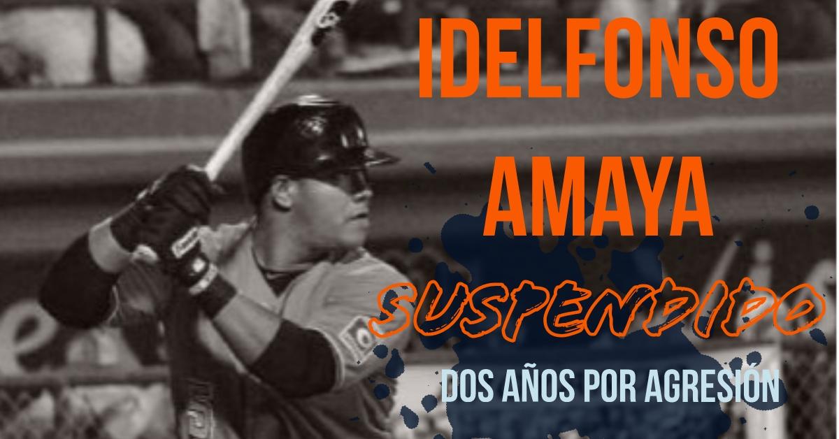 Suspende dos años liga estatal chihuahua a Idelfonso Amaya Domínguez