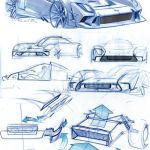 Sketch, Car_sketch, Bocetos_de_coches