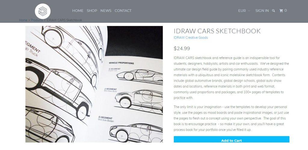 Car_design, Car_sketch, Bocetos_de_coches, IDrawCars