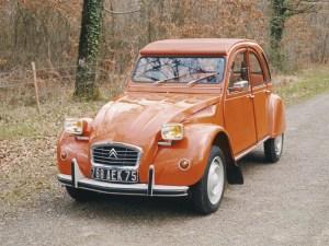 Citroën 2 cv, el coche de los huevos