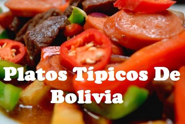 Comida Boliviana Recetas Tipos Tpica y Ms