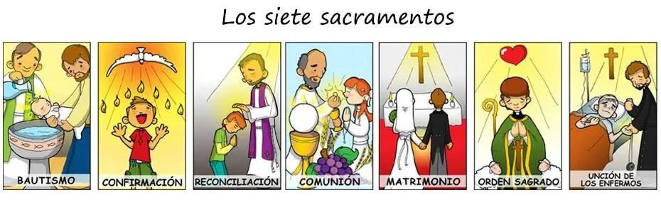 Los De Ley Sacramentos Dios 7 De La