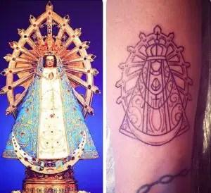 Virgen De Luján En Tatuaje Conoce Los Diferentes Diseños