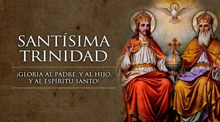 Resultado de imagen para Trinidad Santa un solo Dios, como era en un principio ahora y siempre...