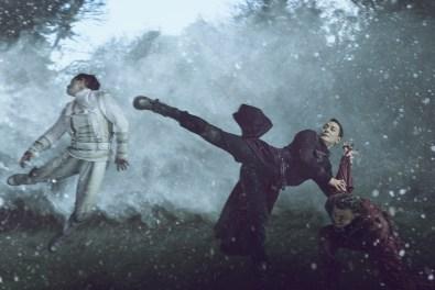 Vidan Tran, Daniel Wu as Sunny, Aaron Gassor- Into the Badlands _ Season 2, Gallery - Photo Credit: Carlos Serrao/AMC