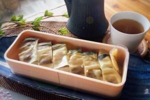 鯖のバッテラ すし善 蕾亭 札幌 発酵