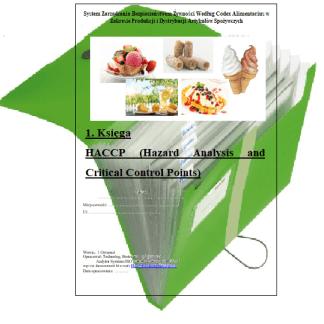 HACCP Lody Świderki Kołacz Węgierki