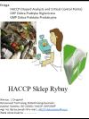HACCP GMP/GHP Sklep Rybny