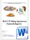 HACCP Sklep Spożywczy Samoobsługowy