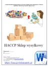 HACCP GHP/GMP Sklep wysyłkowy