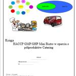 HACCP GHP / GMP Mini Bistro Catering
