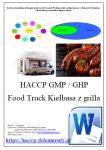 HACCP GMP/GHP Food Truck Kiełbasa z grilla