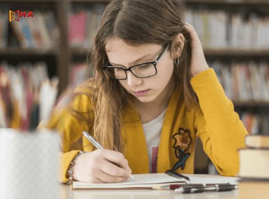 Cách học viết ielts cơ bản tại HA Centre