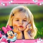 Hacer fotomontaje con Minnie