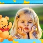 Fotomontaje infantil de Winnie the Pooh