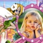 Fotomontaje infantil de hadita