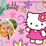 Fotomontaje de Hello Kitty gratis