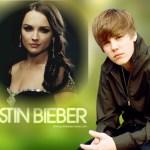 Fotomontaje junto a Justin Bieber