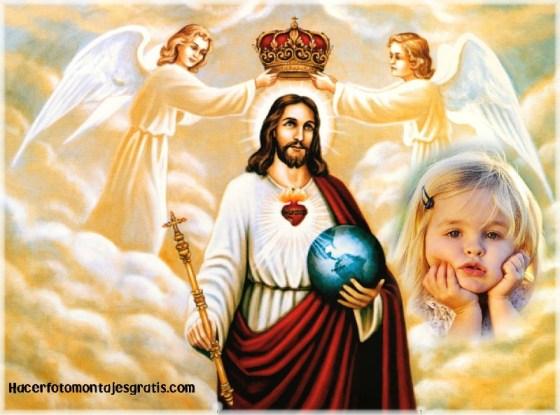 Jesus con ñangeles