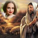 Fotomontaje con Jesucristo gratis