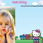 Hacer fotomontaje de Hello Kitty gratis