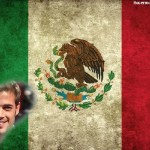 Fotomontaje de la Bandera Mexicana