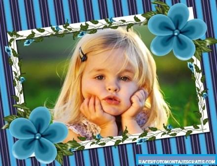 Hacer fotomontaje con flores