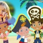 Fotomontaje de Jake y los Piratas