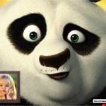 Fotomontaje de Kung Fu Panda