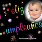 Fotomontaje de Feliz Cumpleaños