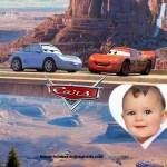 Fotomontaje para niños con Cars
