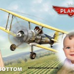 Fotomontaje con Leadbottom de Aviones Cars