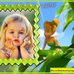 Fotomontaje infantil de Tinkerbell
