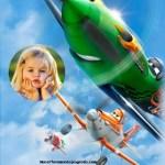 Fotomontaje infantil de Aviones de Disney