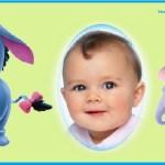 Fotomontaje con personajes de Pooh