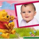 Fotomontaje infantil de Pooh gratis