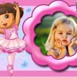 Fotomontaje de Dora la Exploradora Bailarina