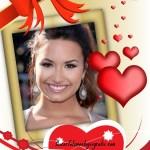 """Fotomontajes con corazones y la palabra """"Love"""""""