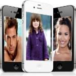 Fotomontaje de iPhones para colocar tres fotos