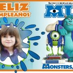 Fotomontaje de Feliz Cumpleaños Monsters University