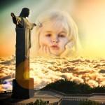 Fotomontaje de Cristo Redentor