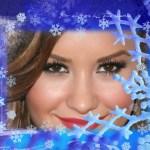 Fotomontaje con estrellas de nieve