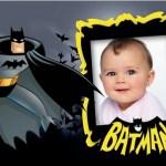 Fotomontaje infantil de Batman