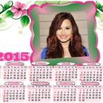 Fotomontaje de Calendario 2015 para personalizar gratis